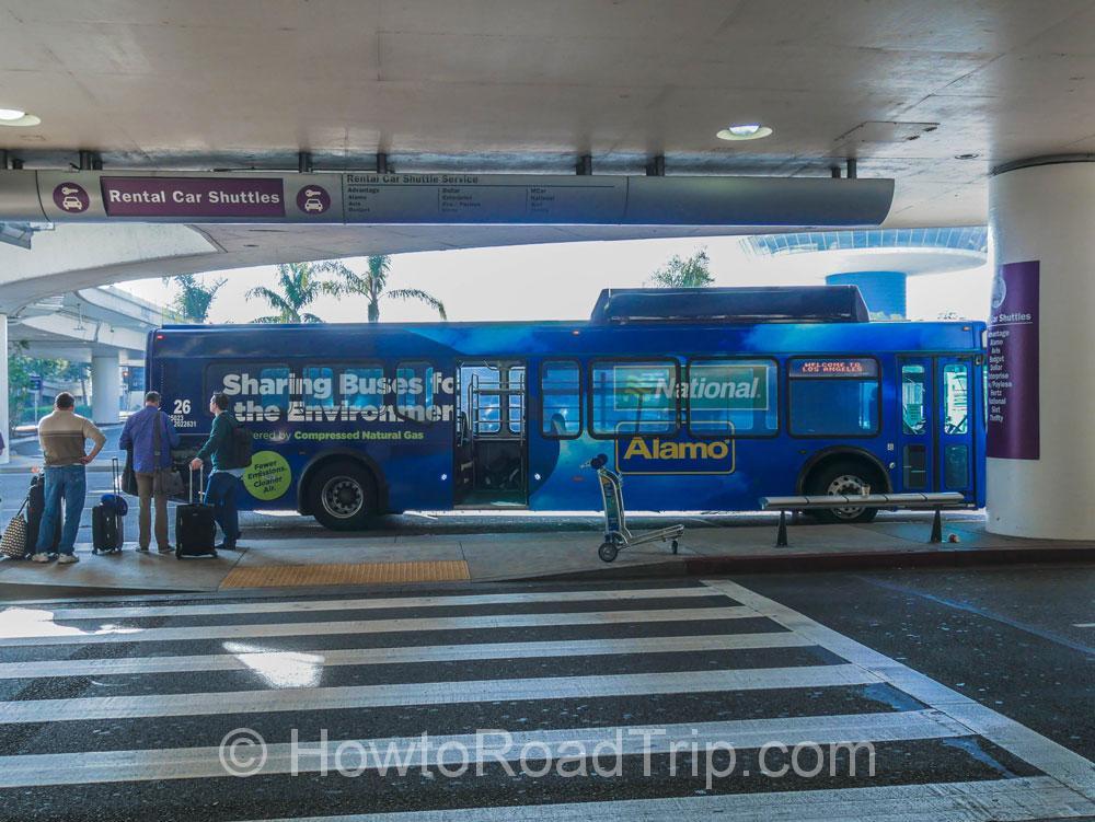 alamoシャトルバス