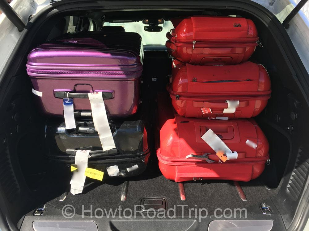 スーツケース5個