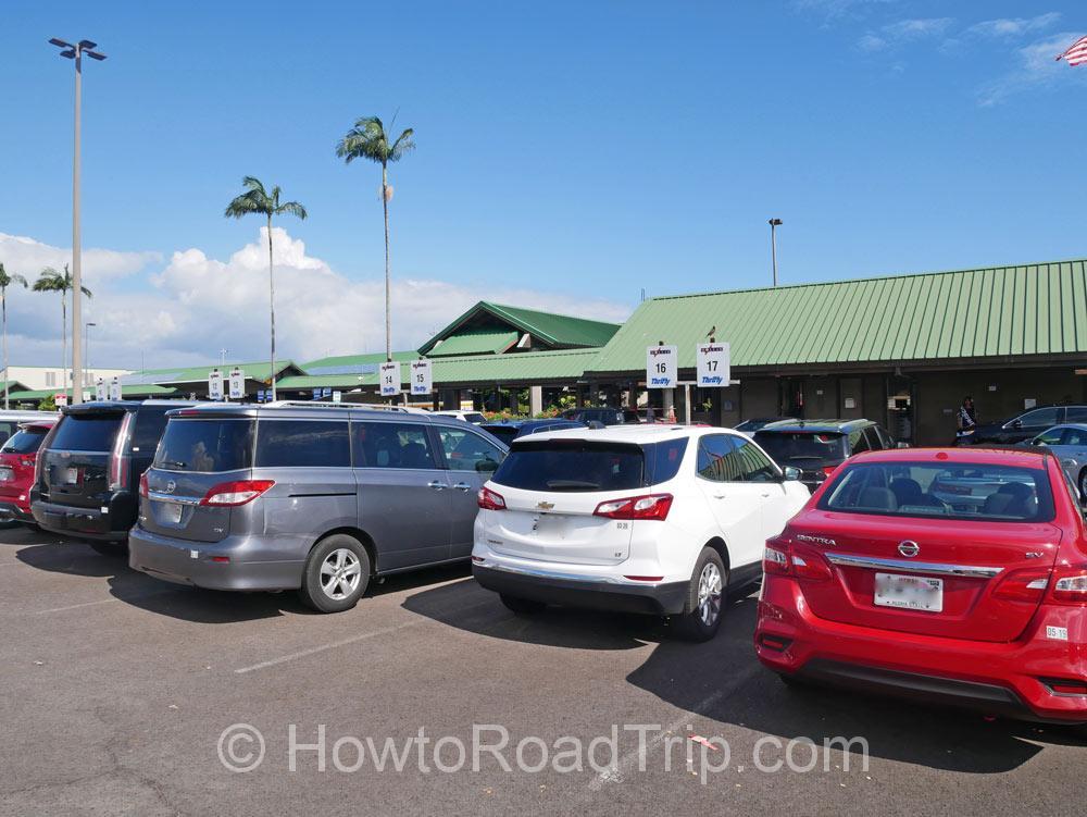 ダラーの駐車場