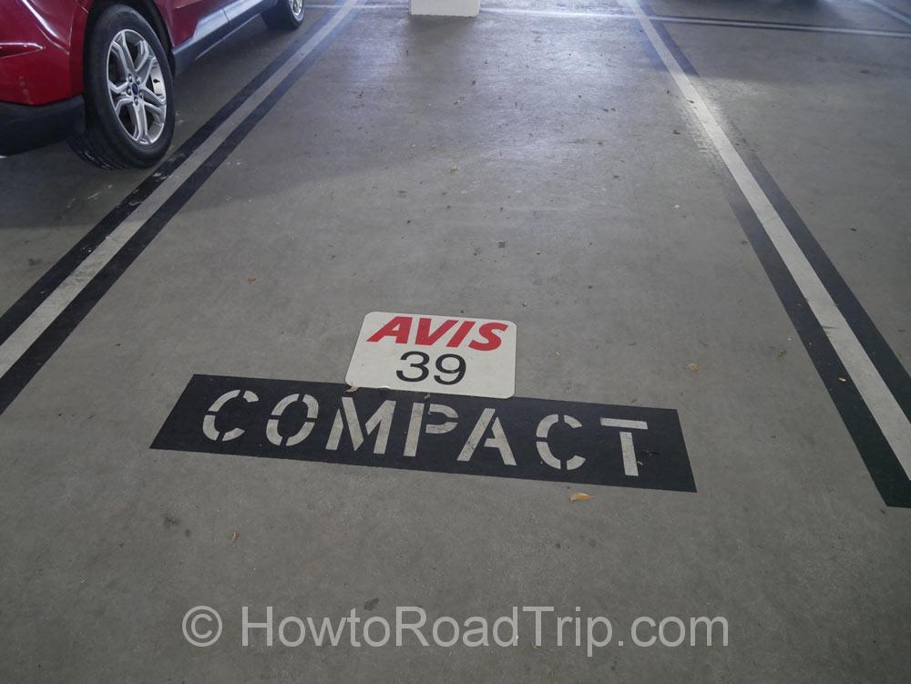 駐車スポット