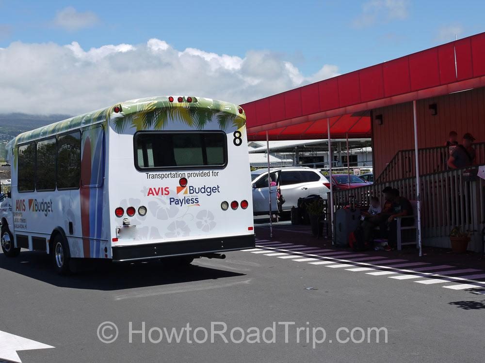 空港へのシャトルバス