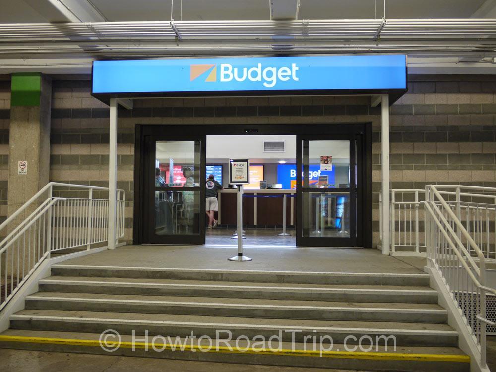 バジェット・ホノルル空港