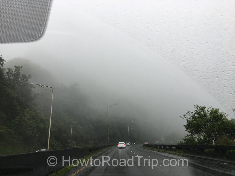 ハワイ・霧