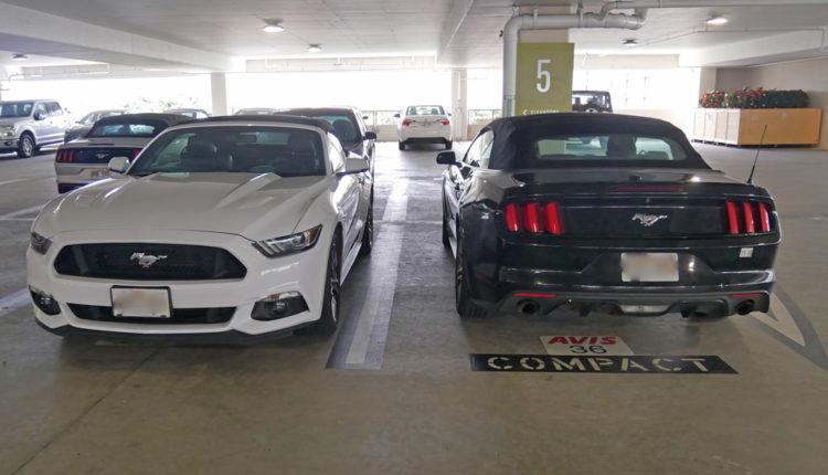 エイビス駐車場