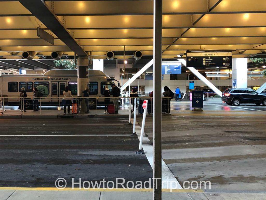 hertz rent a car center at pdx