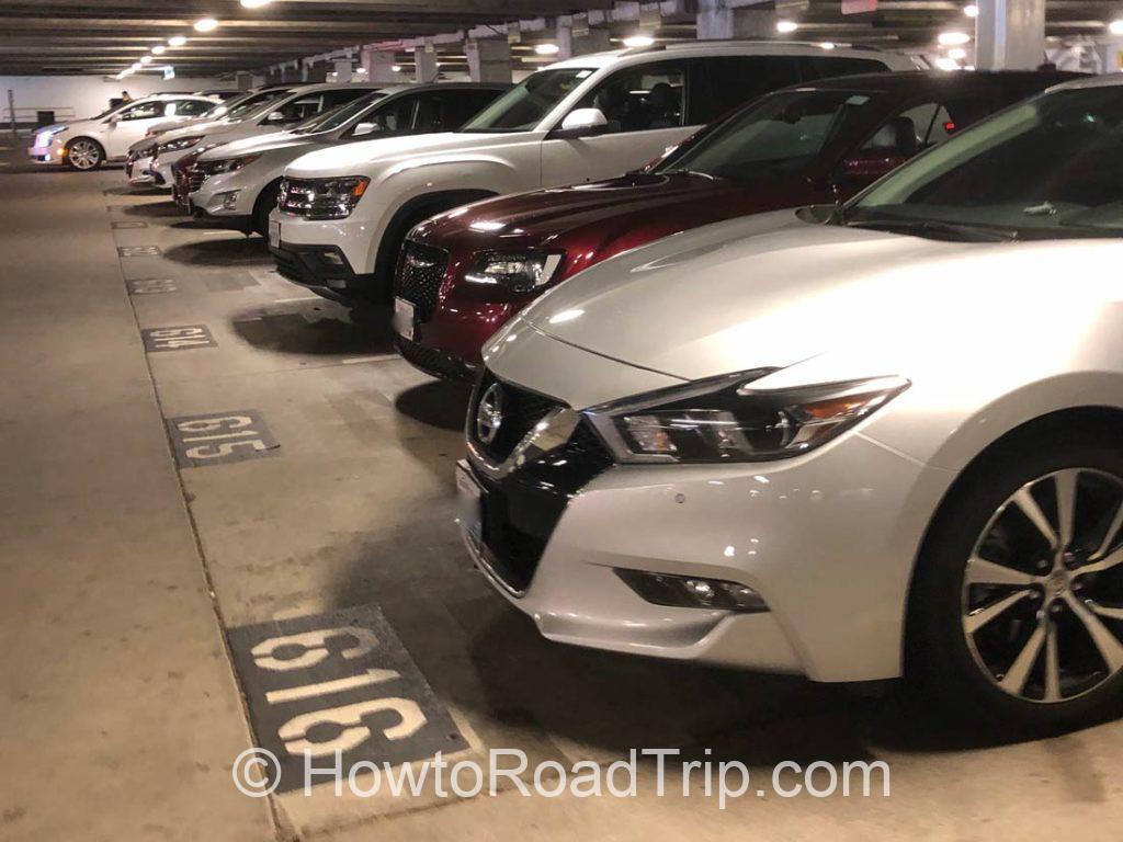 fleet at pdx 駐車場